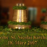Consecration bells in Pulsnitz